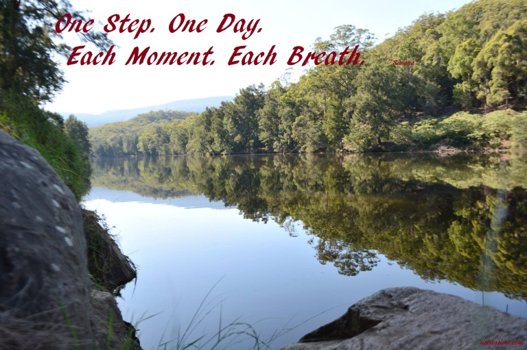 one breath each moment